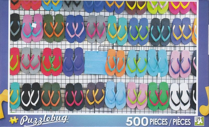 Puzzlebug 500 - Colorful Sandals