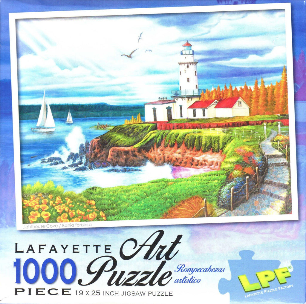 Lighthouse Cove 1000 Piece Puzzle