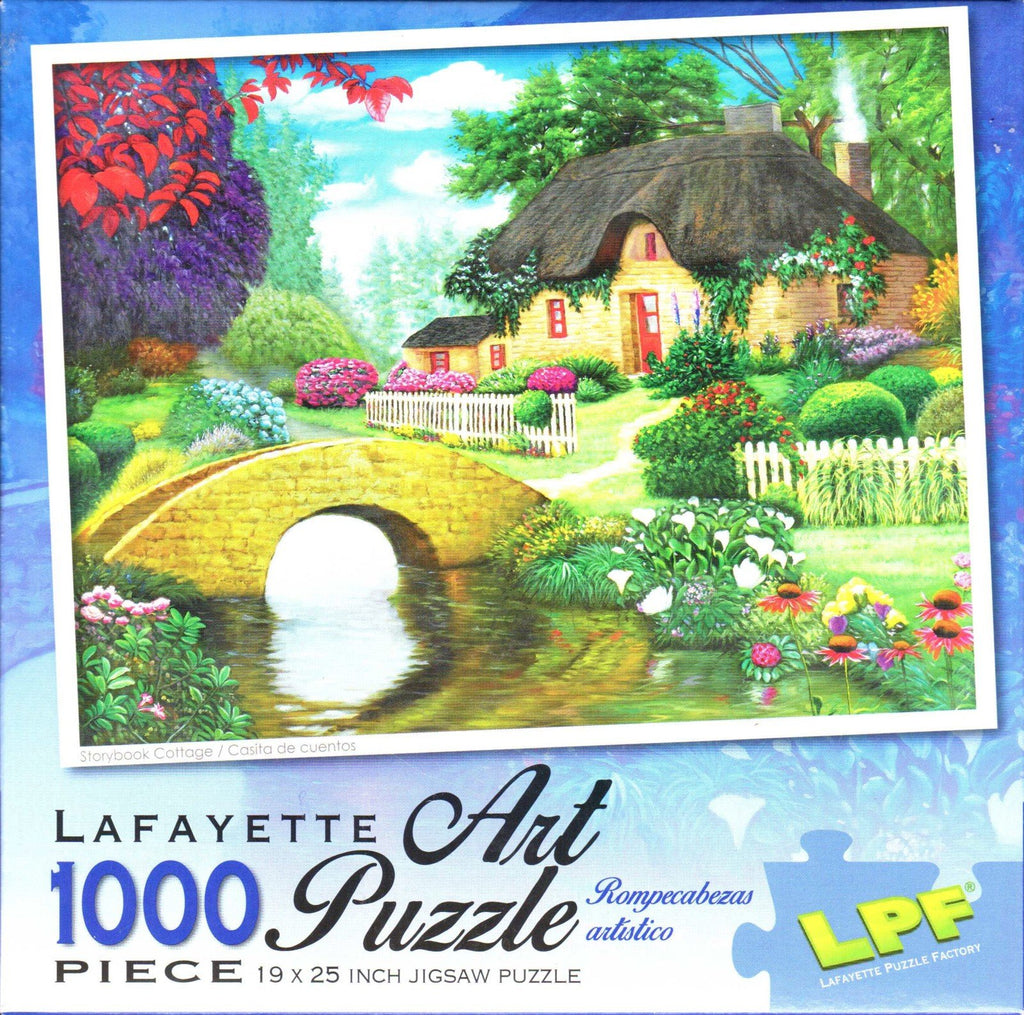 Storybook Cottage 1000 Piece Puzzle