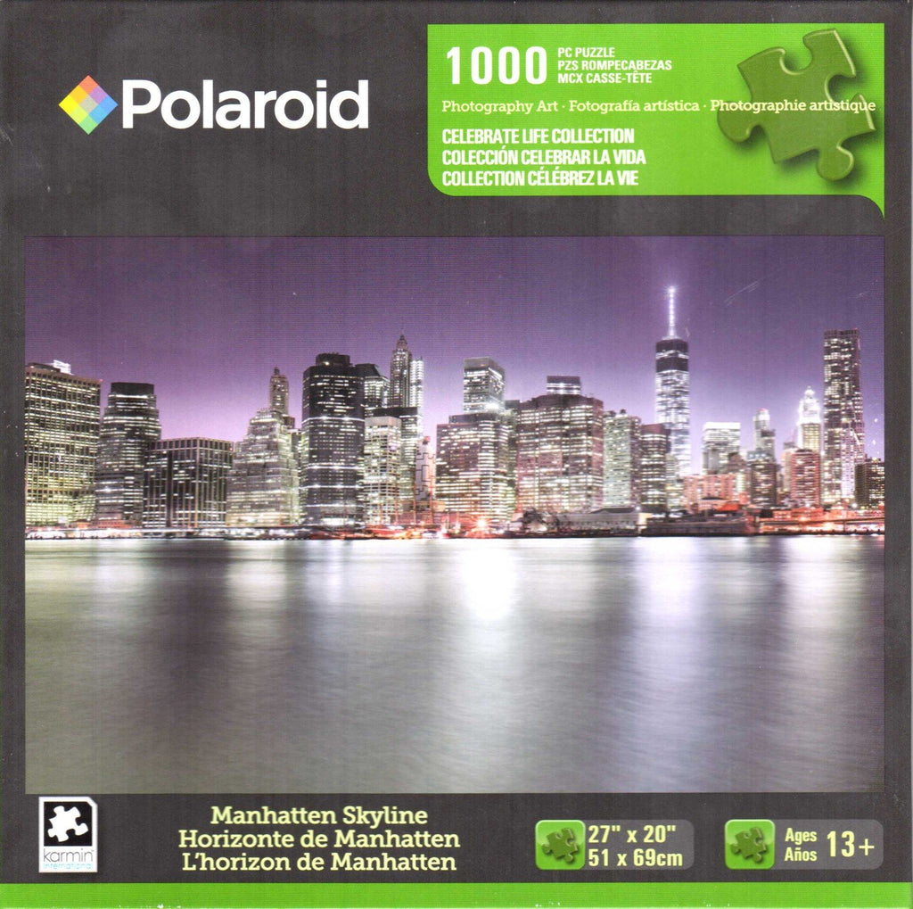 Manhatten Skyline 1000 Piece Puzzle