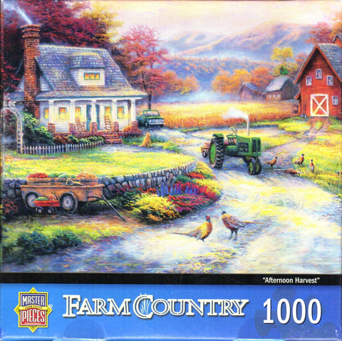 Afternoon Harvest 1000 Piece Puzzle