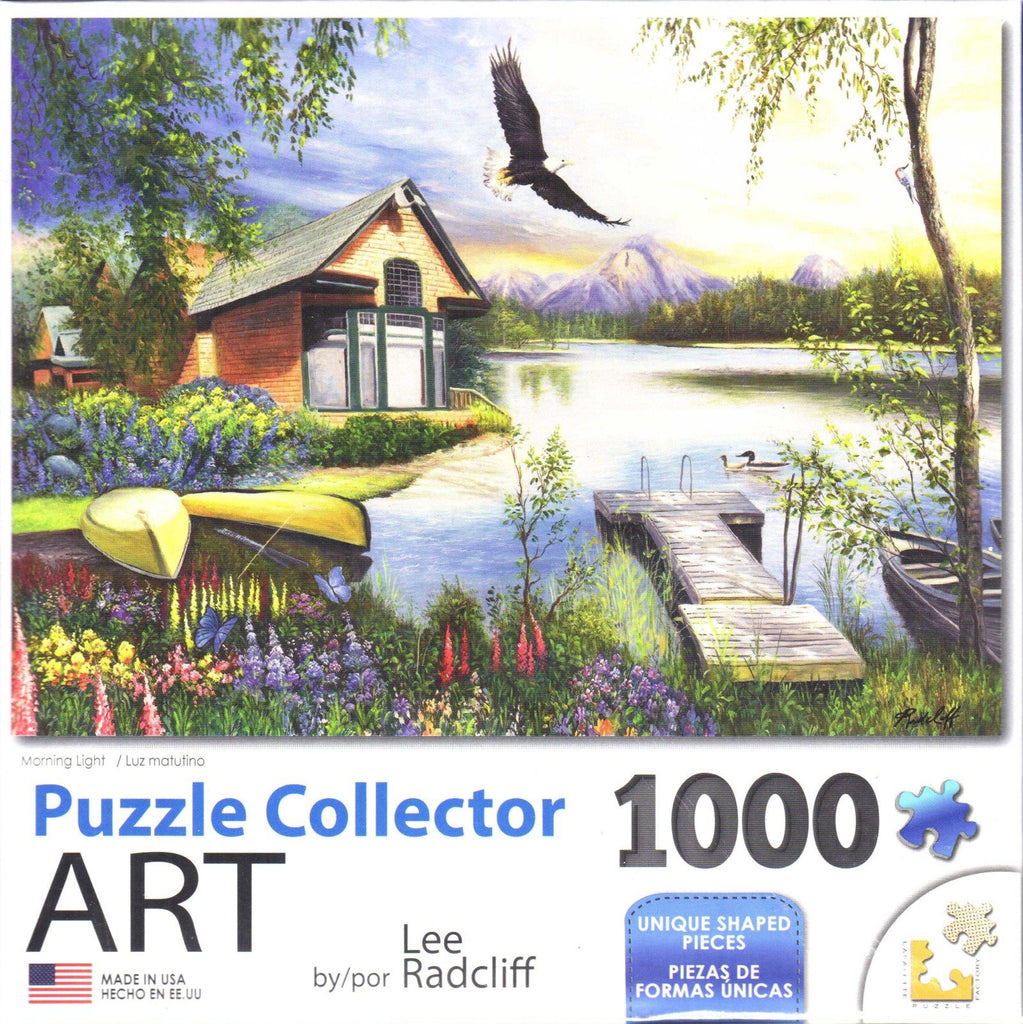 Puzzle Collector Art 1000 Piece Puzzle - Morning Light