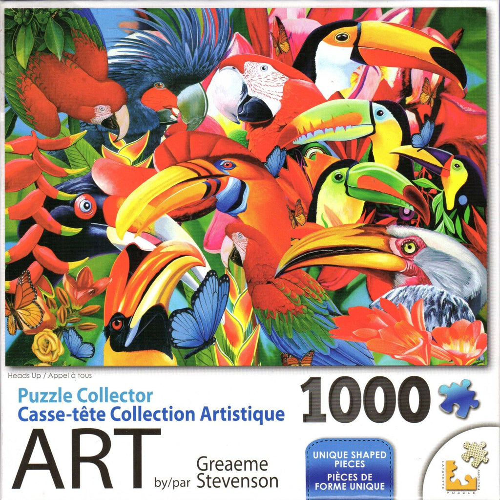 Puzzle Collector Art 1000 Piece Puzzle - Heads Up