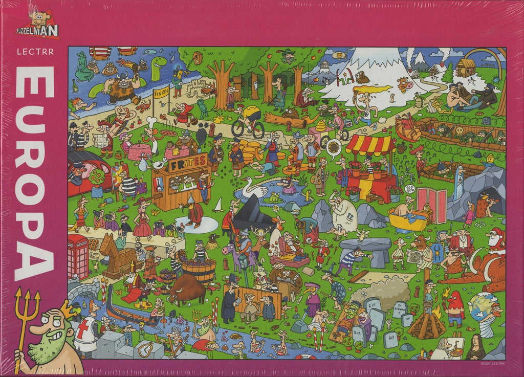 Puzzleman 1000 Piece Puzzle - To Each His Europe! By Lectrr