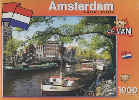 Puzzleman 1000 Piece Puzzle - Amsterdam Netherlands 1