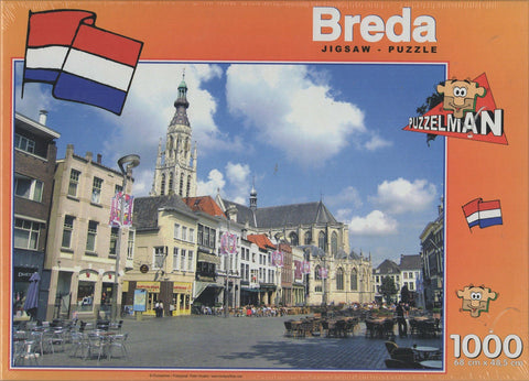 Puzzleman 1000 Piece Puzzle - Breda The Netherlands