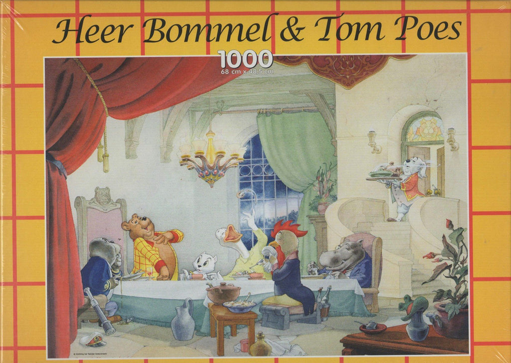 Puzzleman 1000 Piece Puzzle - Heer Bommel & Tom Poes: At the Table