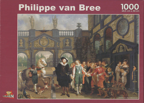 Puzzleman 1000 Piece Puzzle - A Farewell to Anthony van Dyck By Philippe van Bree