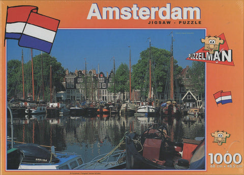 Puzzleman 1000 Piece Puzzle - Amsterdam Netherlands 2
