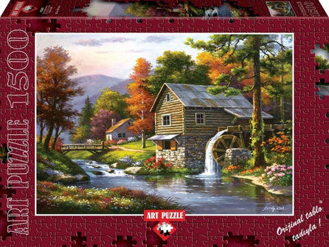 Old Sutter's Mill 1500 Piece Puzzle