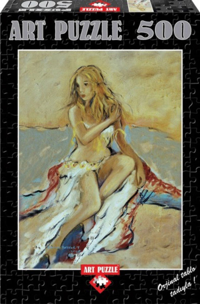 Figure of Woman 500 Piece Puzzle