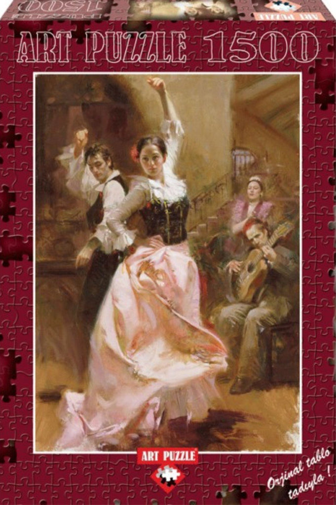 Dancing In Barcelona 1500 Piece Puzzle