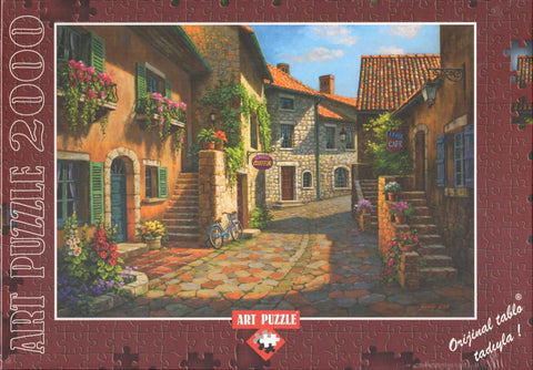 Rue De Village 2000 Piece Puzzle
