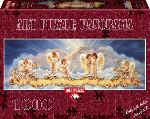 Bless Our Home Panoramic 1000 Piece Puzzle