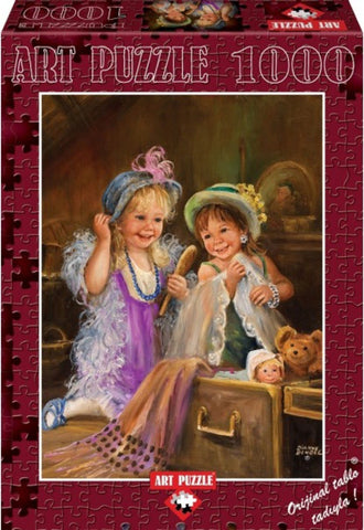 Beauties In Attic 1000 Piece Puzzle