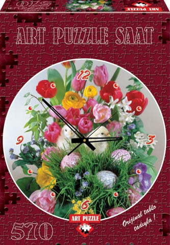 You Know I Love You 570 Piece Clock Puzzle