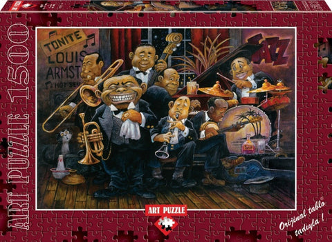 Louis Armstrong And His Orchestra 1500 Piece Puzzle