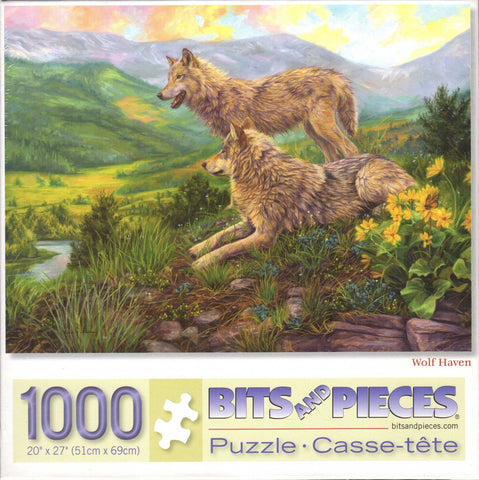 Wolf Haven 1000 Piece Puzzle
