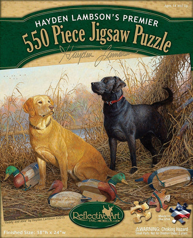 Ready and Able 550 Piece Puzzle