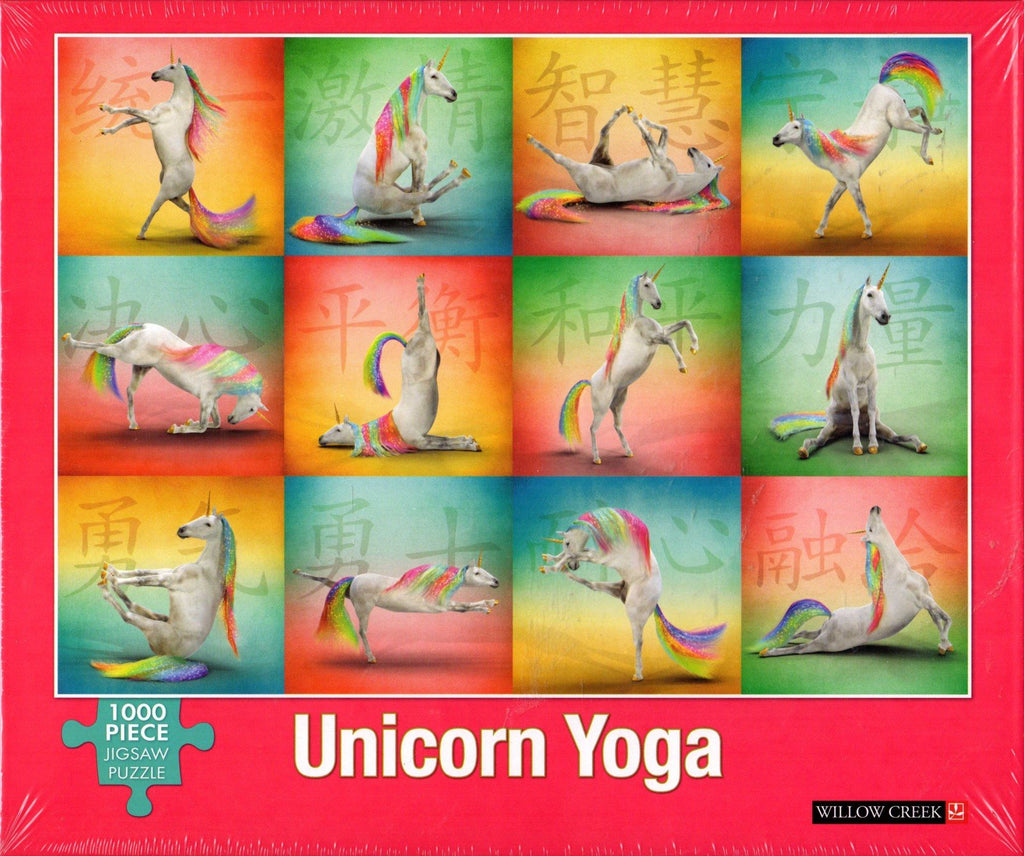 Unicorn Yoga 1000 Piece Puzzle