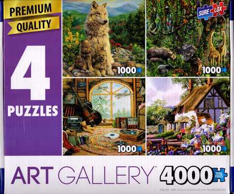 Art Gallery 4000: New Generation, Jungle Tree, Attic Treasures, April Cottage