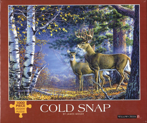 Cold Snap 1000 Piece Puzzle