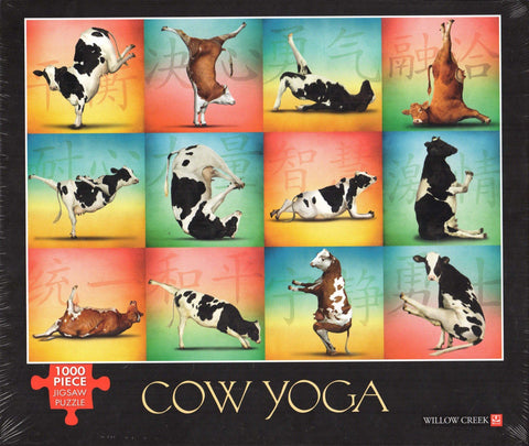 Cow Yoga 1000 Piece Puzzle