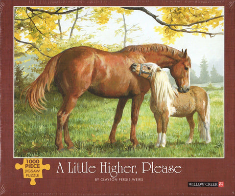 Little Higher Please 1000 Piece Puzzle