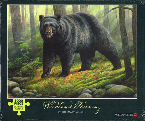 Woodland Morning 1000 Piece Puzzle