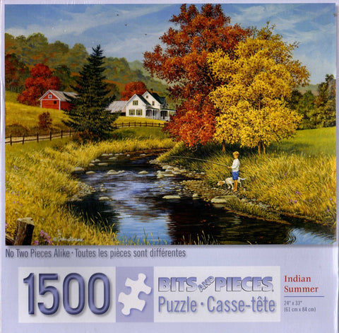 Indian Summer 1500 Piece Puzzle