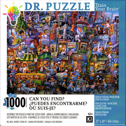Where I Show Up By Bill Bell 1000 Piece Puzzle