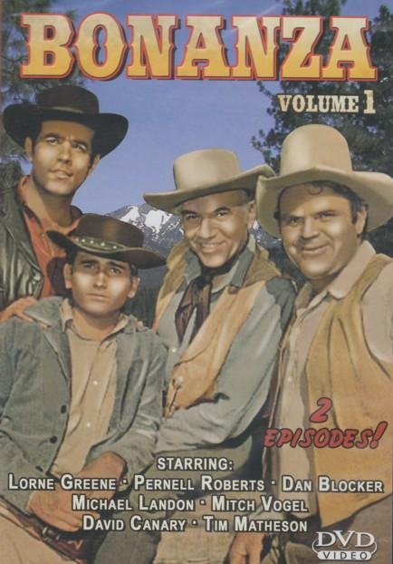 Bonanza Volume 1, Escape to Ponderosa / Blood Line [Slim Case]