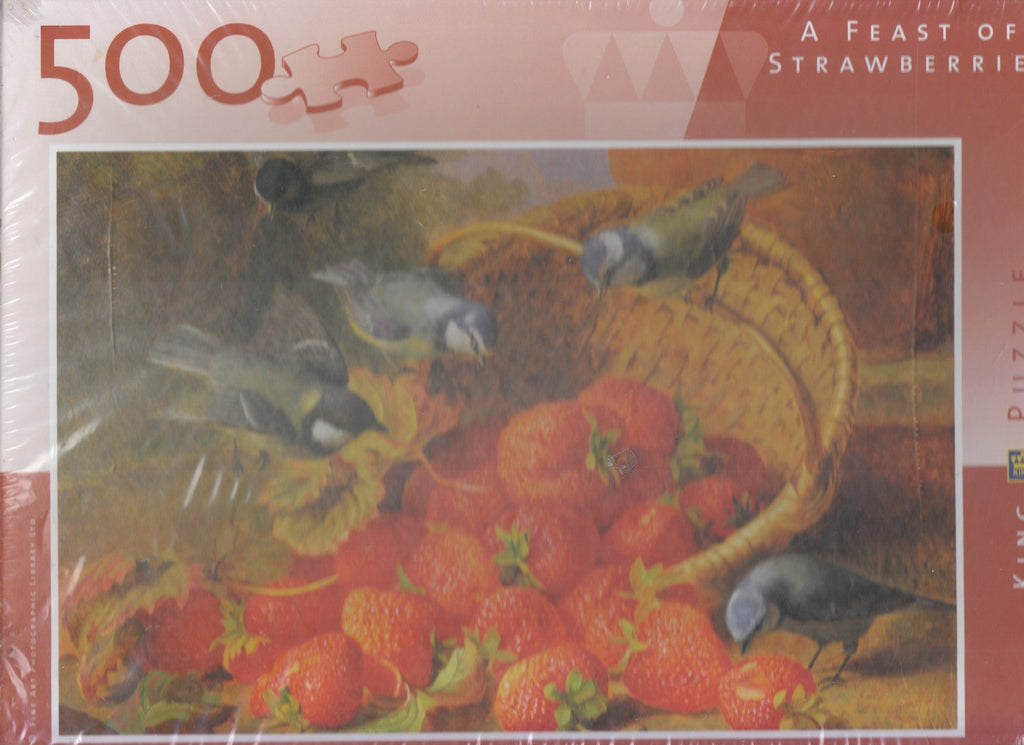 Feast of Strawberries 500 Piece Puzzle