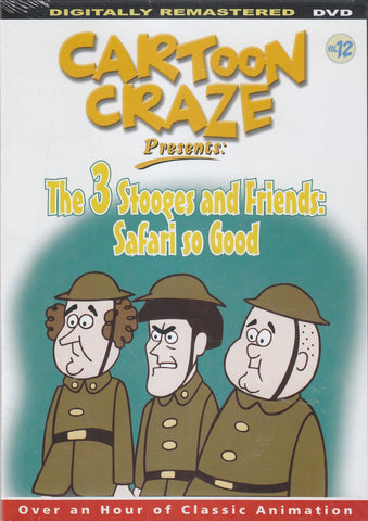 3 Stooges And Friends, The: Safari So Good [Slim Case]