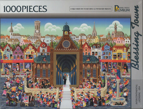 Blessing Town 1000 Piece Puzzle
