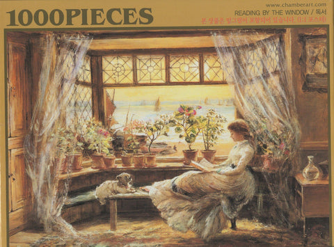 Reading By the Window 1000 Piece Puzzle