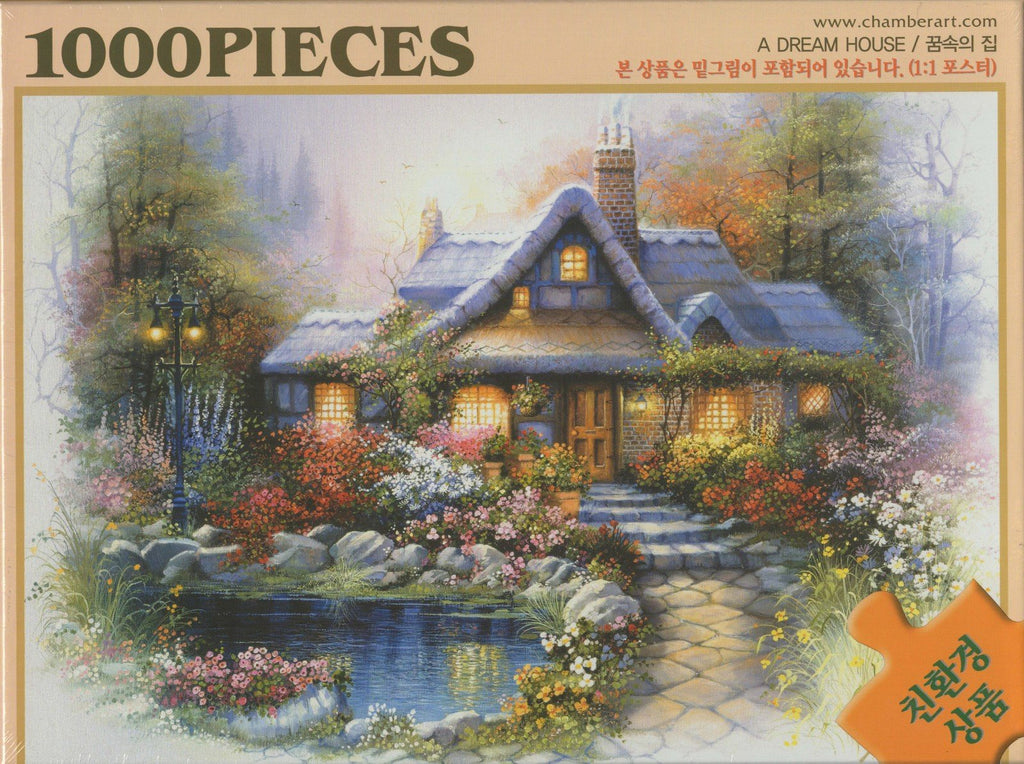 Dream House 1000 Piece Puzzle