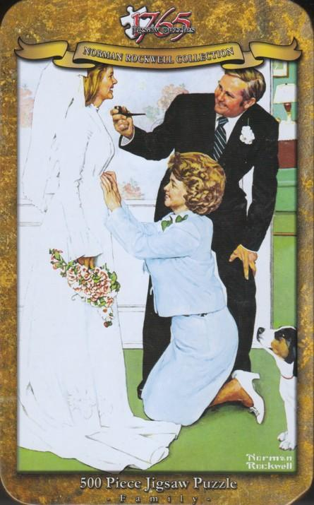 1765 Jigsaw - Norman Rockwell - Bride To Be