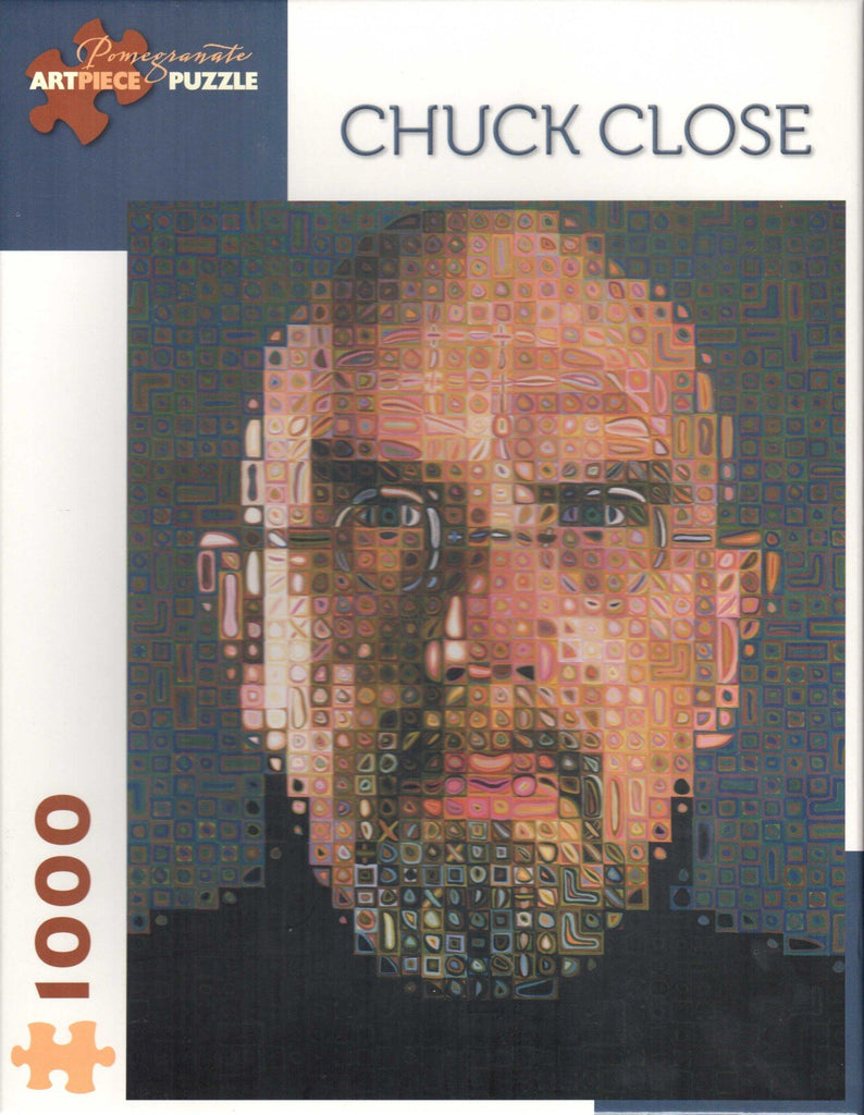 Chuck Close - Self Portrait 1000 Piece Puzzle