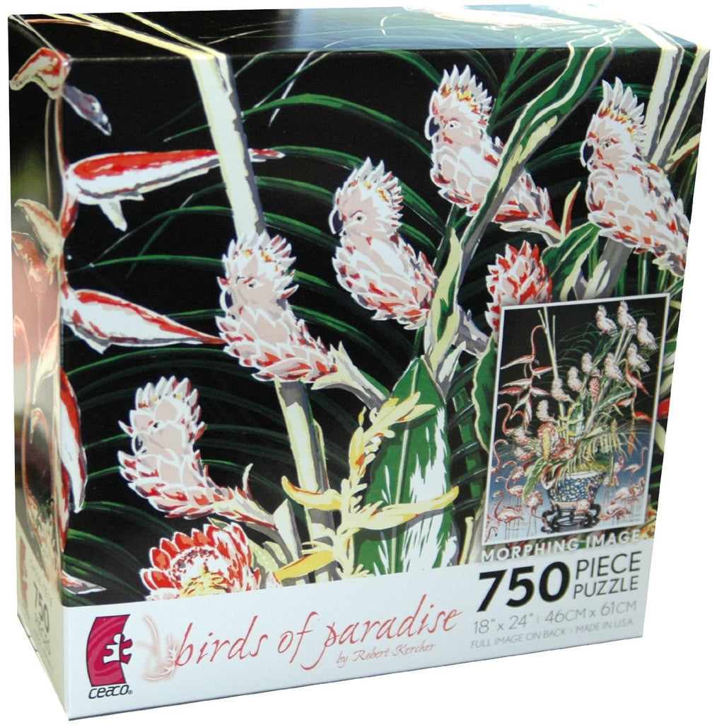 Birds of Paradise 750 Piece Puzzle
