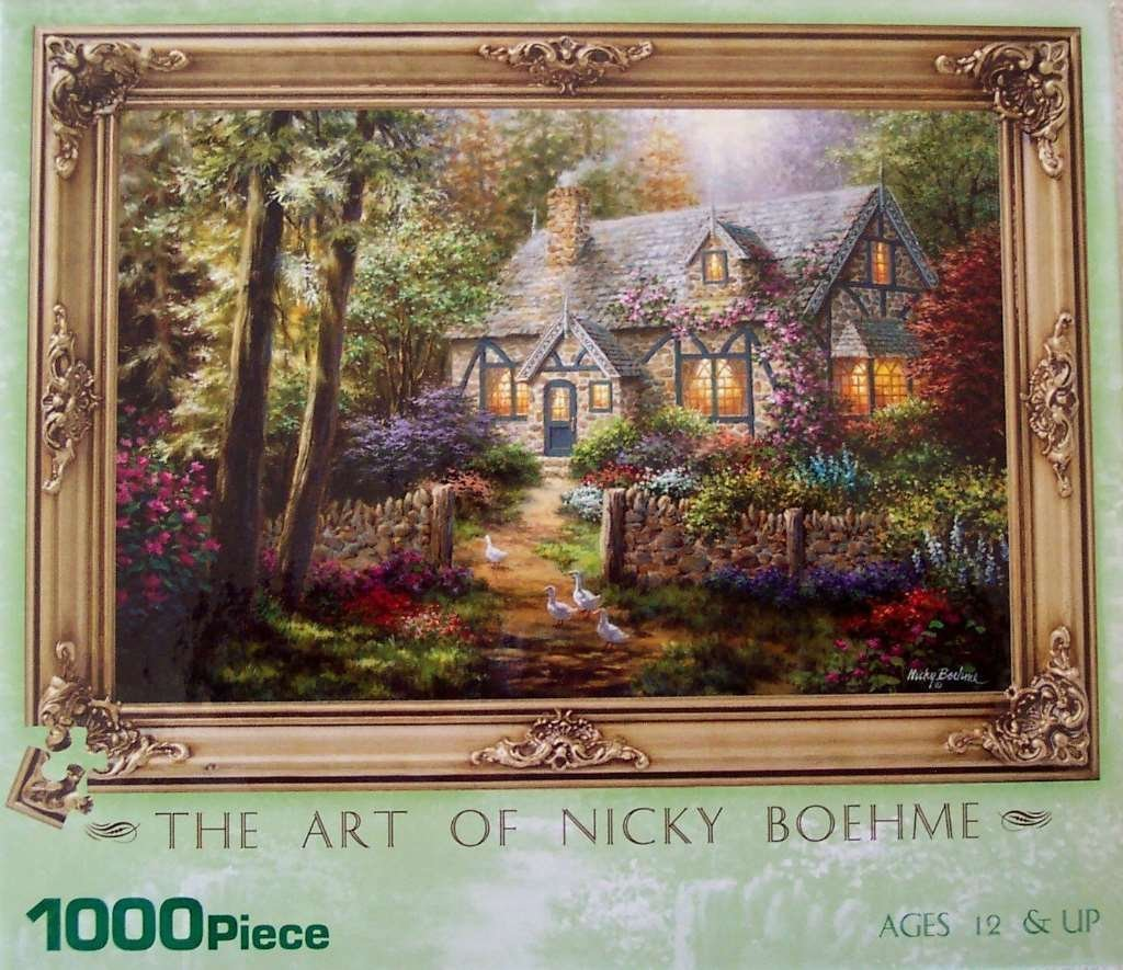 Country Gem 1000 Piece Puzzle