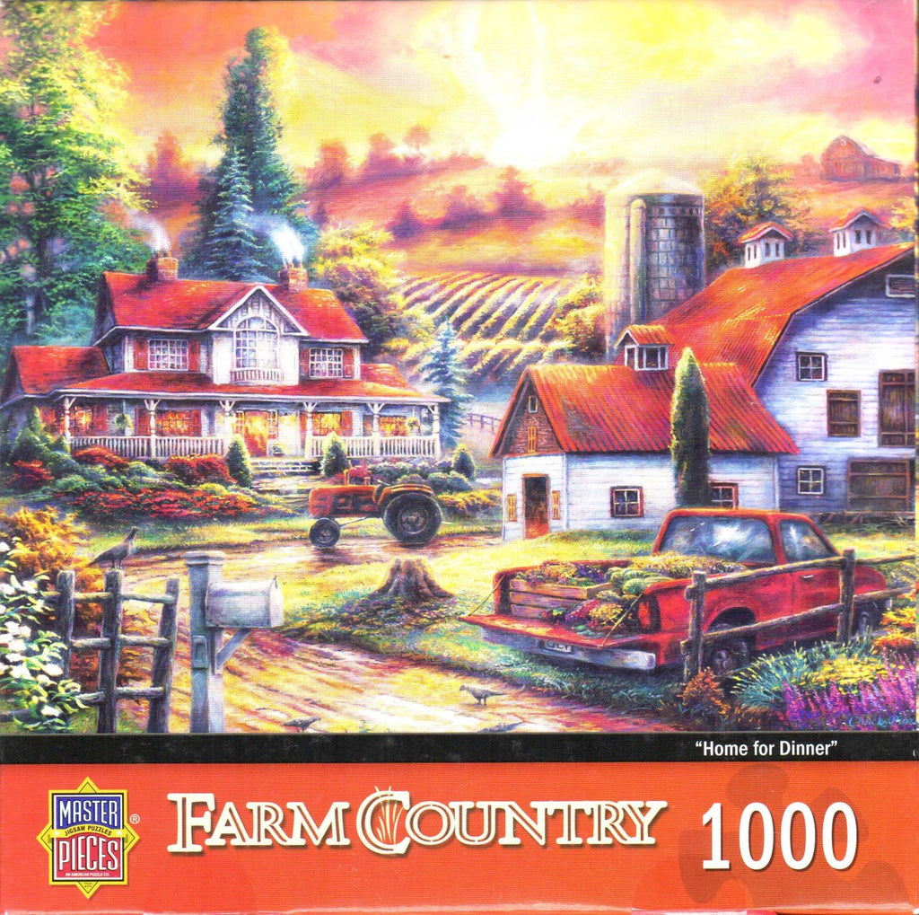 Home For Dinner 1000 Piece Puzzle