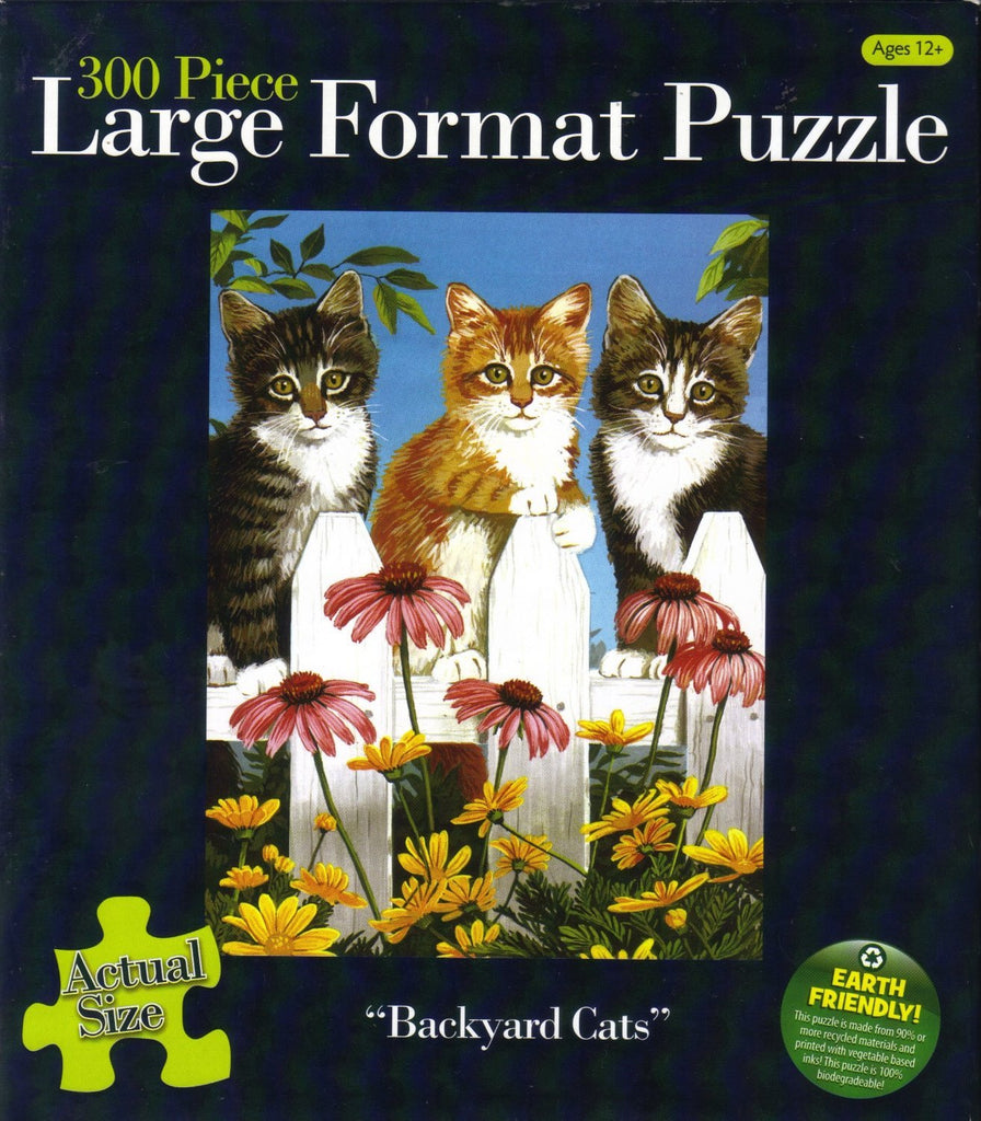 Backyard Cats 300 Piece Puzzle