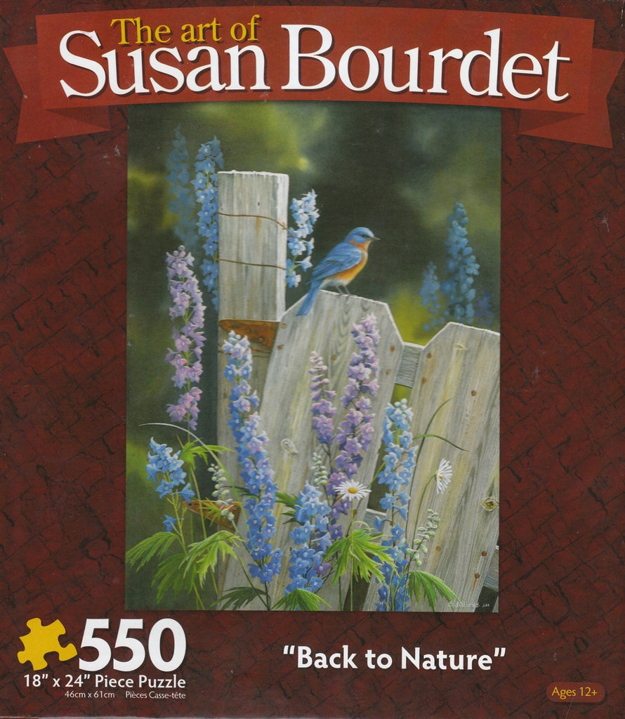 Back to Nature 550 Piece Puzzle