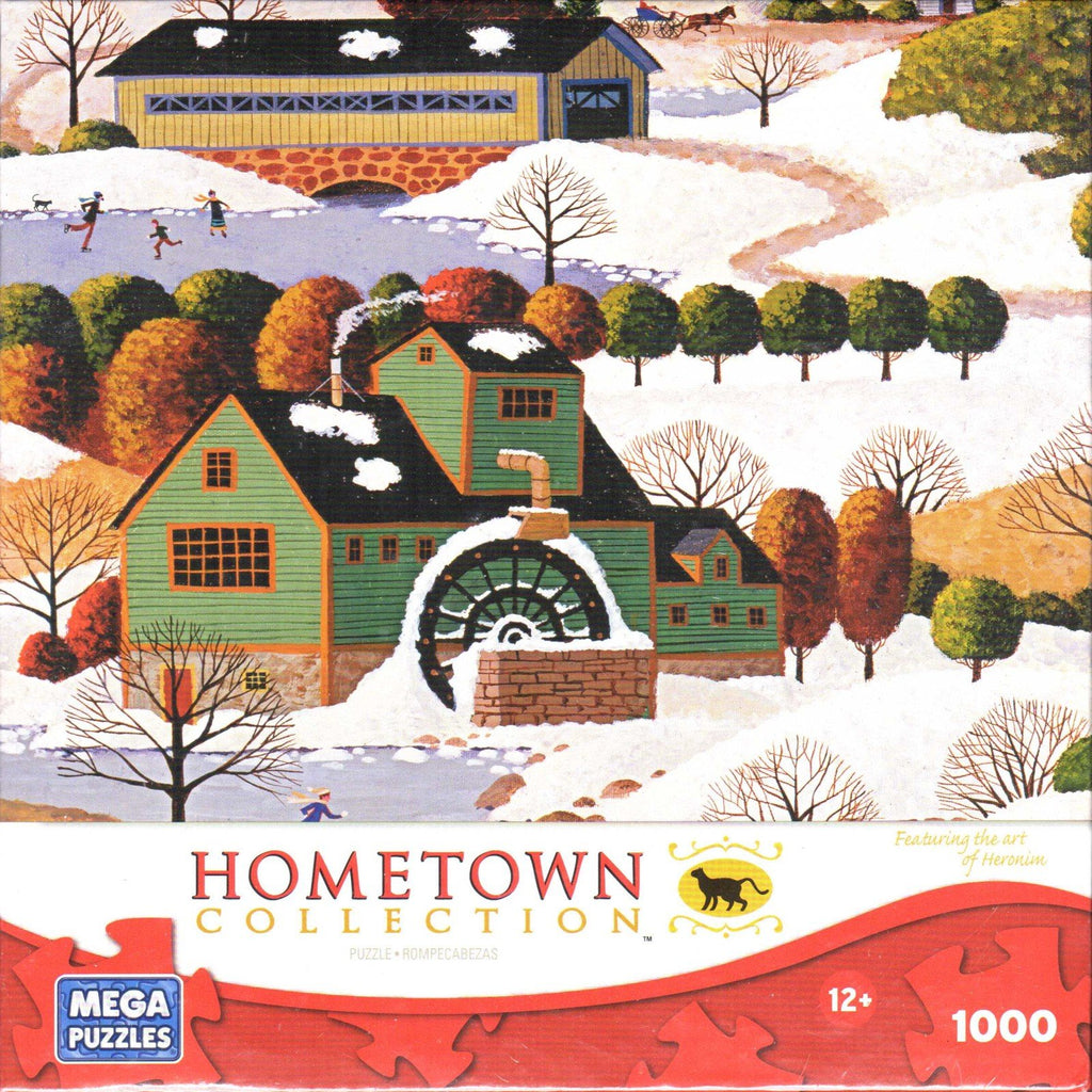 Hometown Collection: Winter in Vermont 1000 Piece Puzzle