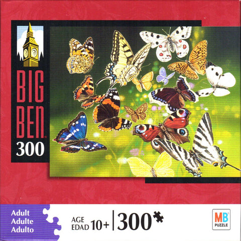 Butterflies in Flight 300 Piece Puzzle
