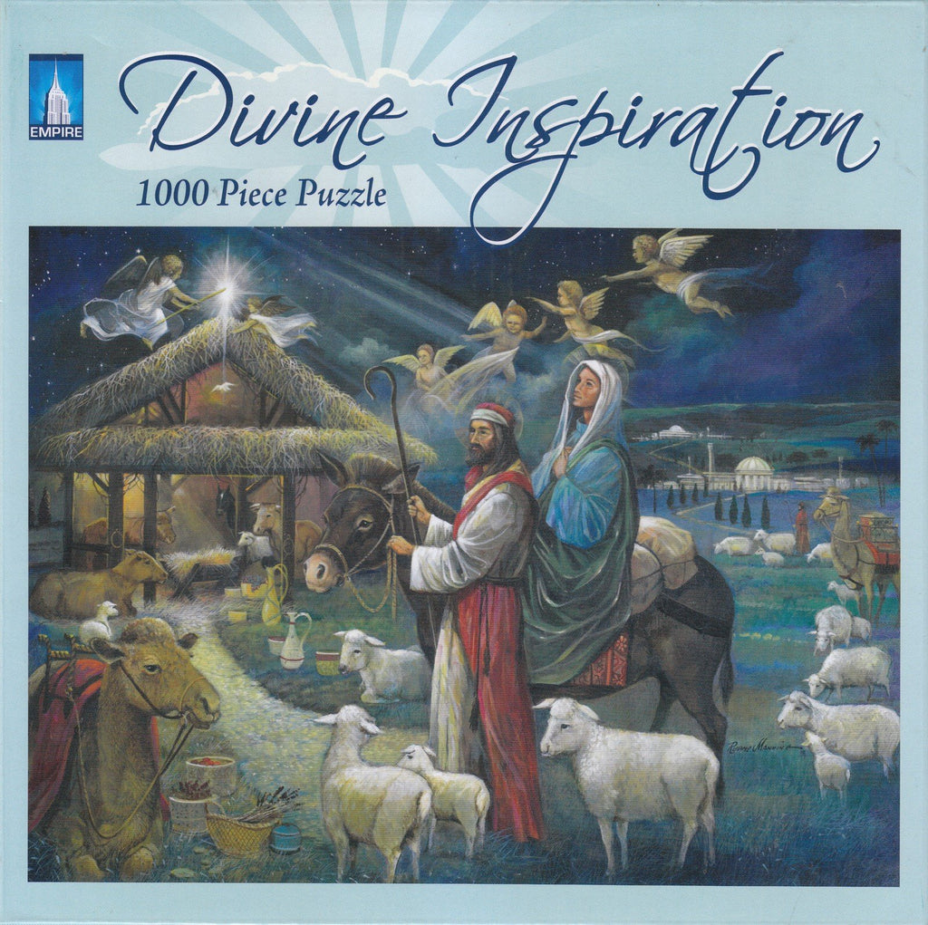 No Room at the Inn 1000 Piece Puzzle