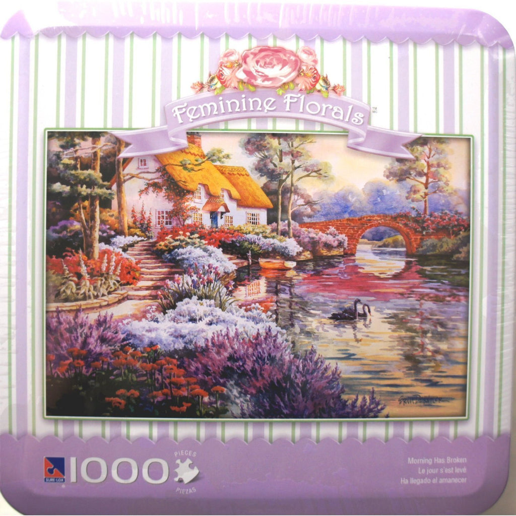 Feminine Florals - Morning Has Broken 1000 Piece Puzzle