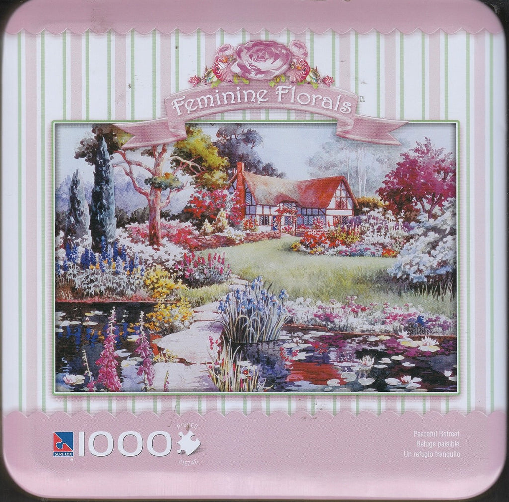 Feminine Florals - Peaceful Retreat 1000 Piece Puzzle