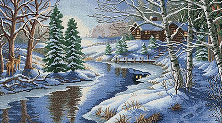 Alpine Vistas: All Is Calm 500 Piece Puzzle